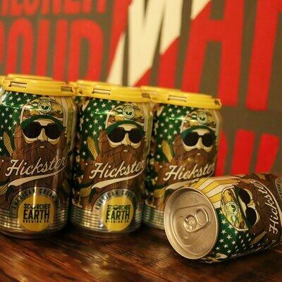 Scorched Earth Hickster Cream Ale 12 FL. OZ. 6PK Cans