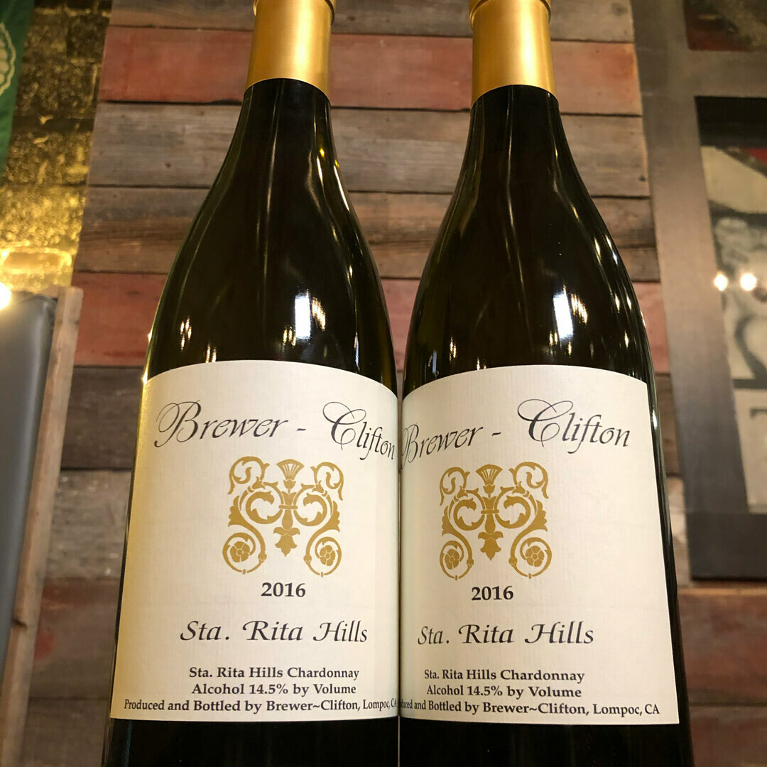 Brewer Clifton Chardonnay Santa Rita Hills California 750ml.