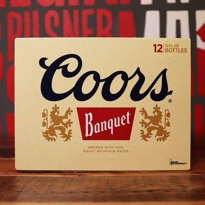 Coors Golden Banquet Lager 12 FL. OZ. 12PK