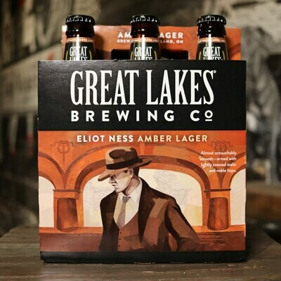 Great Lakes Eliot Ness Vienna Lager 12 FL. OZ. 6PK
