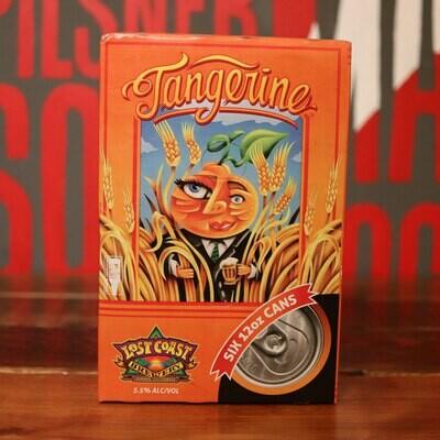 Lost Coast Tangerine Wheat 12 FL. OZ. 6PK Cans