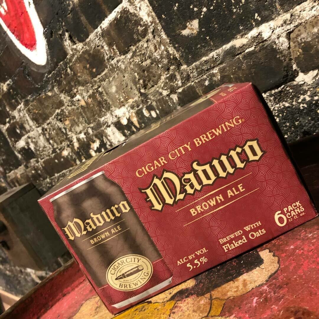 Cigar City Maduro Brown Ale 12 FL. OZ. 6PK Cans