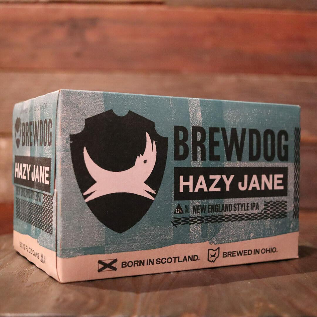 Brew Dog Hazy Jane NEIPA 12 FL. OZ. 6PK Cans