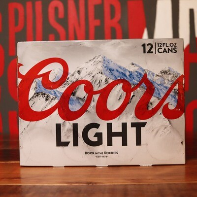 Coors Light Lager 12 FL. OZ. 12PK Cans