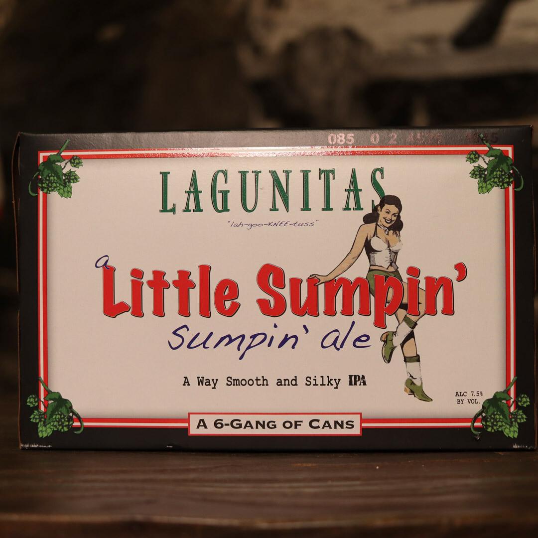 Lagunitas Little Sumpin Ale 12 FL. OZ. 6PK Cans