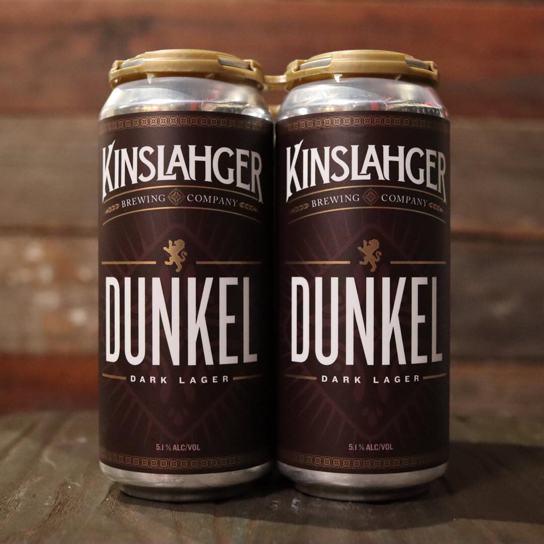 Kinslahger Dunkel 16 FL. OZ. 4PK Cans