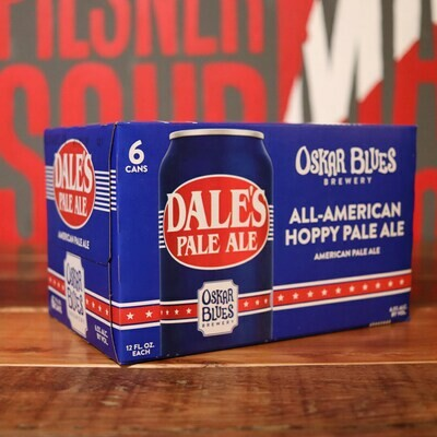 Oskar Blues Dales Pale Ale 12 FL. OZ. 6PK Cans