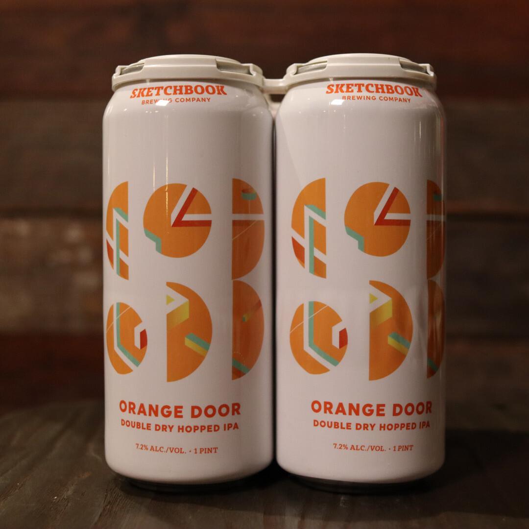 Sketchbook Orange Door IPA 16 FL. OZ. 4PK Cans