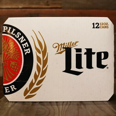 Miller Lite Lager 12 FL. OZ. 12PK Cans