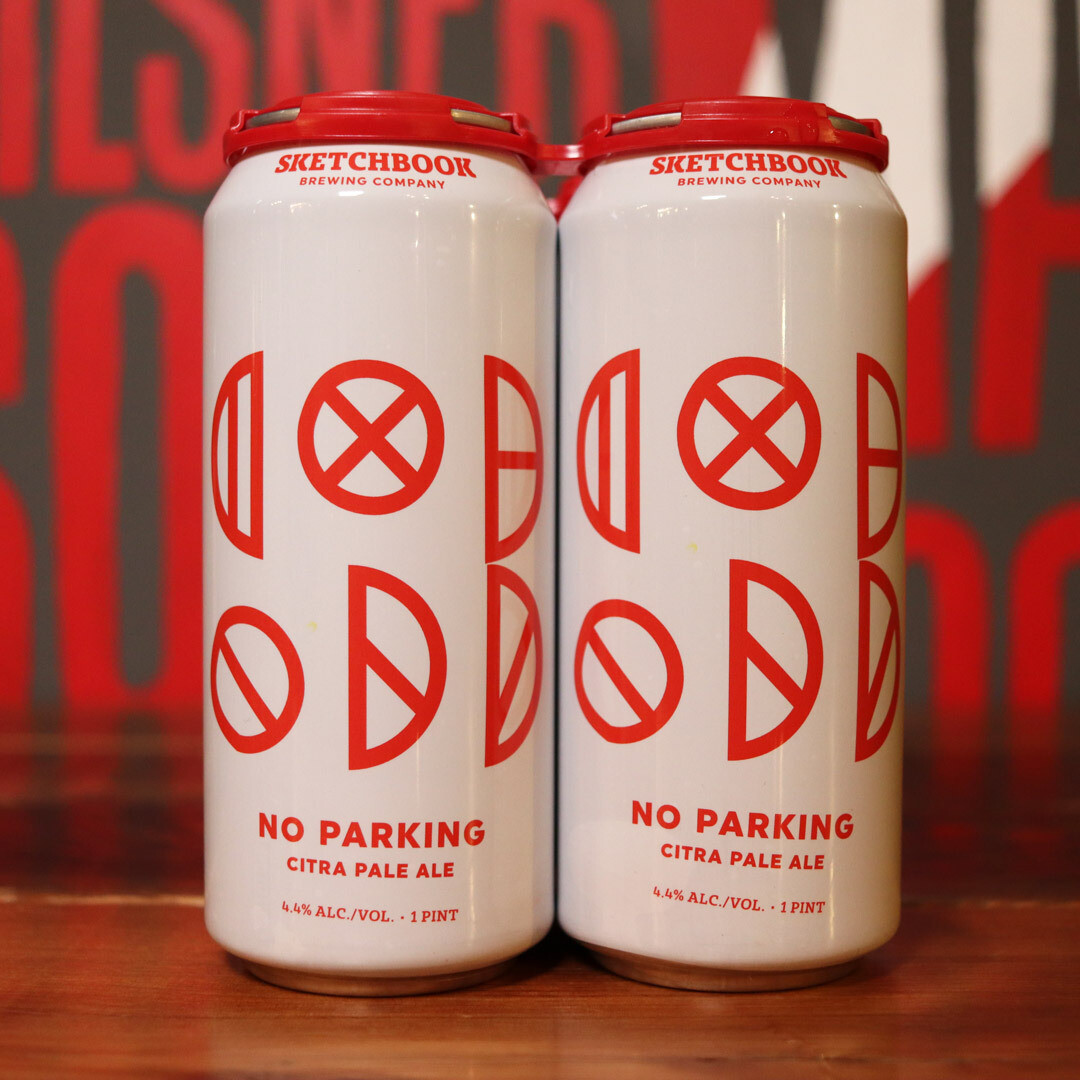 Sketchbook No Parking Session Pale Ale 16 FL. OZ. 4PK Cans