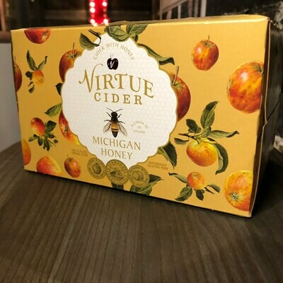 Virtue Cider Michigan Honey 12 FL. OZ. 6PK Cans