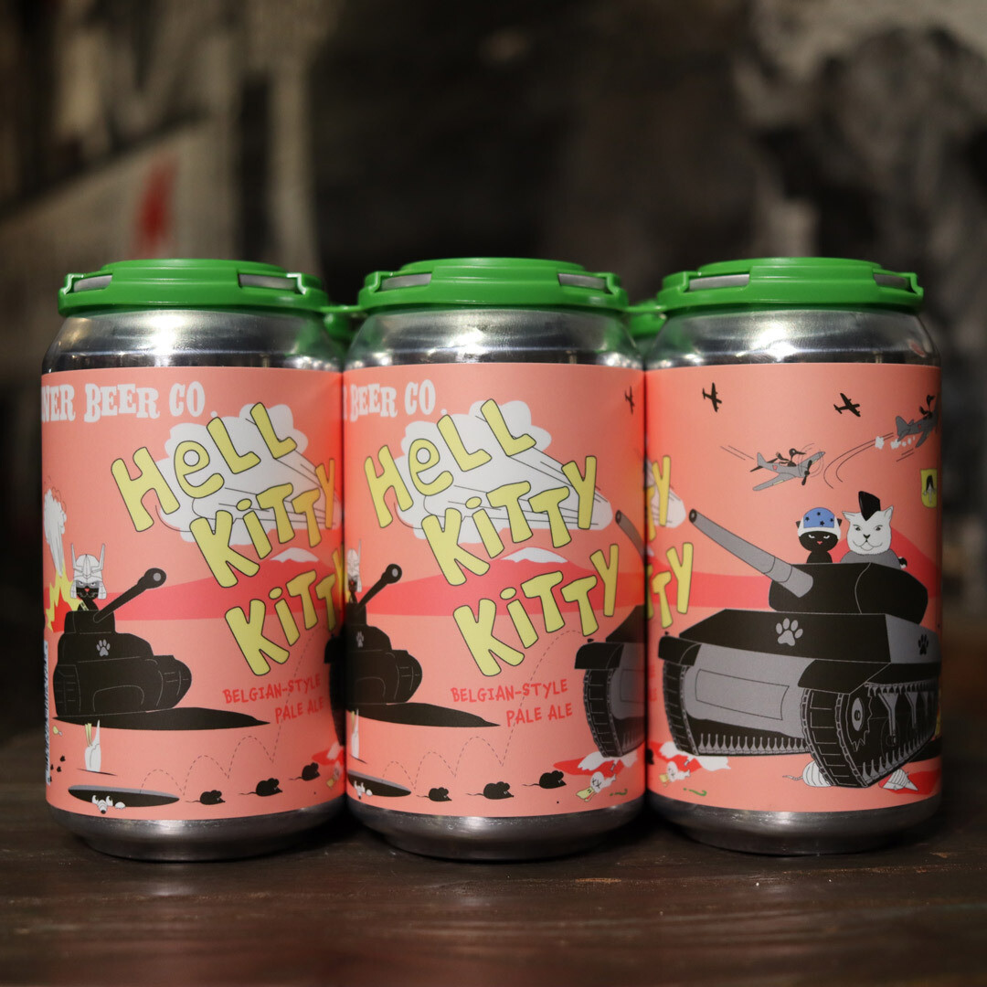 Whiner Hell Kitty Kitty Belgian Pale Ale 12 FL. OZ. 6PK Cans