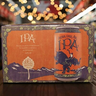 Odell IPA 12 FL. OZ. 6PK Cans