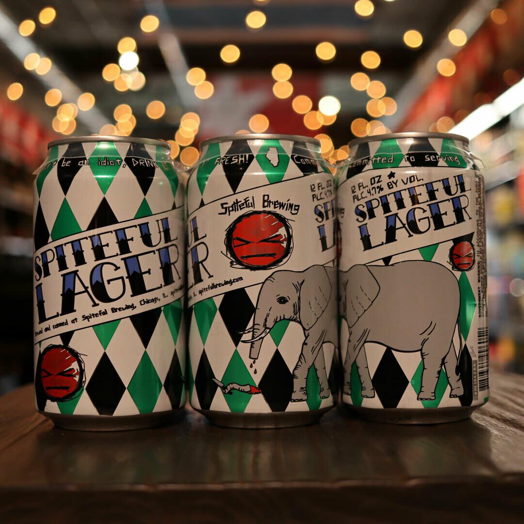 Spiteful Lager 12 FL. OZ. 6PK Cans