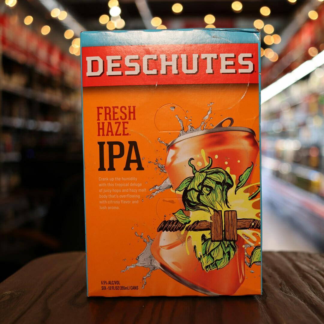 Deschutes Fresh Haze IPA 12 FL. OZ. 6PK Cans