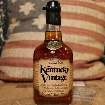 Kentucky Vintage Fully Mature Bourbon Whiskey 750ml.