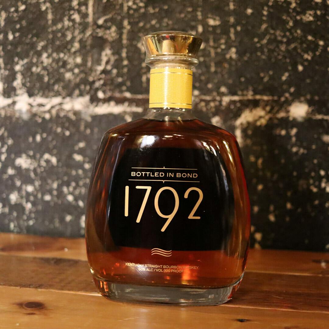 1792 Bourbon Whiskey Bottled in Bond 750ml.