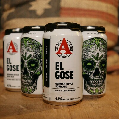 Avery El Gose Sour 12 FL. OZ. 6PK Cans