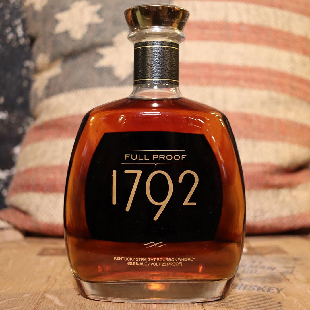 1792 Bourbon Whiskey Full Proof 750ml.