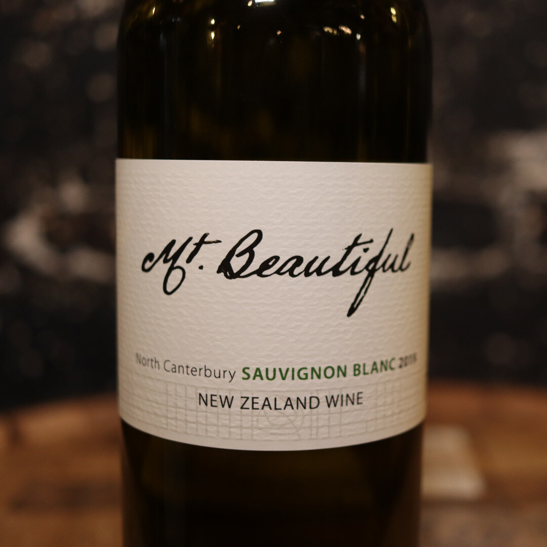 Mt. Beautiful Sauvignon Blanc New Zealand 750ml.