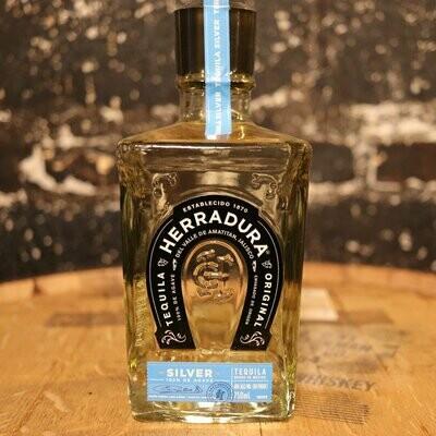 Herradura Silver Tequila 750ml.