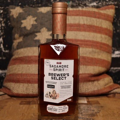 Sagamore Brewer's Select Rye Whiskey 750ml.