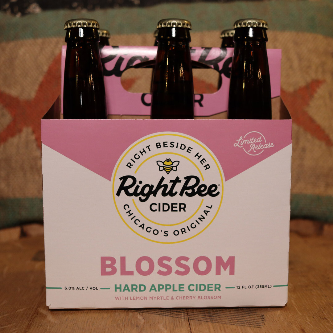 Right Bee Cider Blossom 12 FL. OZ. 6PK