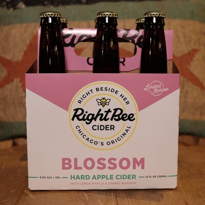 Right Bee Cider Blossom 12 FL. OZ. 6PK
