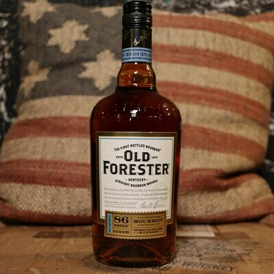 Old Forester 86 Proof Bourbon Whiskey 750ml.