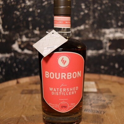 Watershed Bourbon Whiskey 750ml.