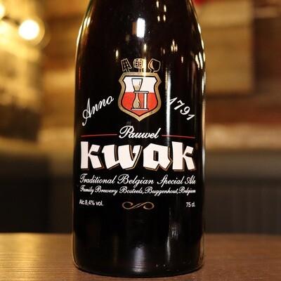Bosteels Kwak Belgian Strong Ale 750ml.