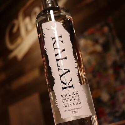 Kalak Single Malt Vodka 750ml.