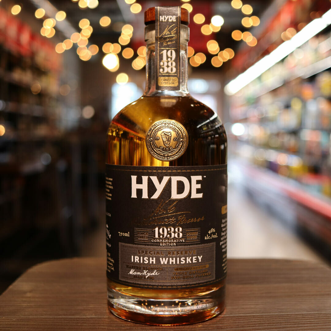 Hyde Irish Whiskey Special Reserve Sherry Finish 750ml.
