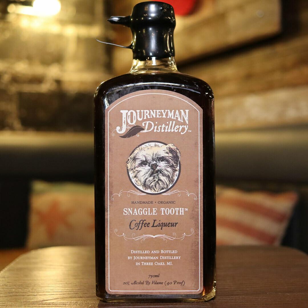 Journeyman Snaggletooth Coffee Liqueur 750ml.