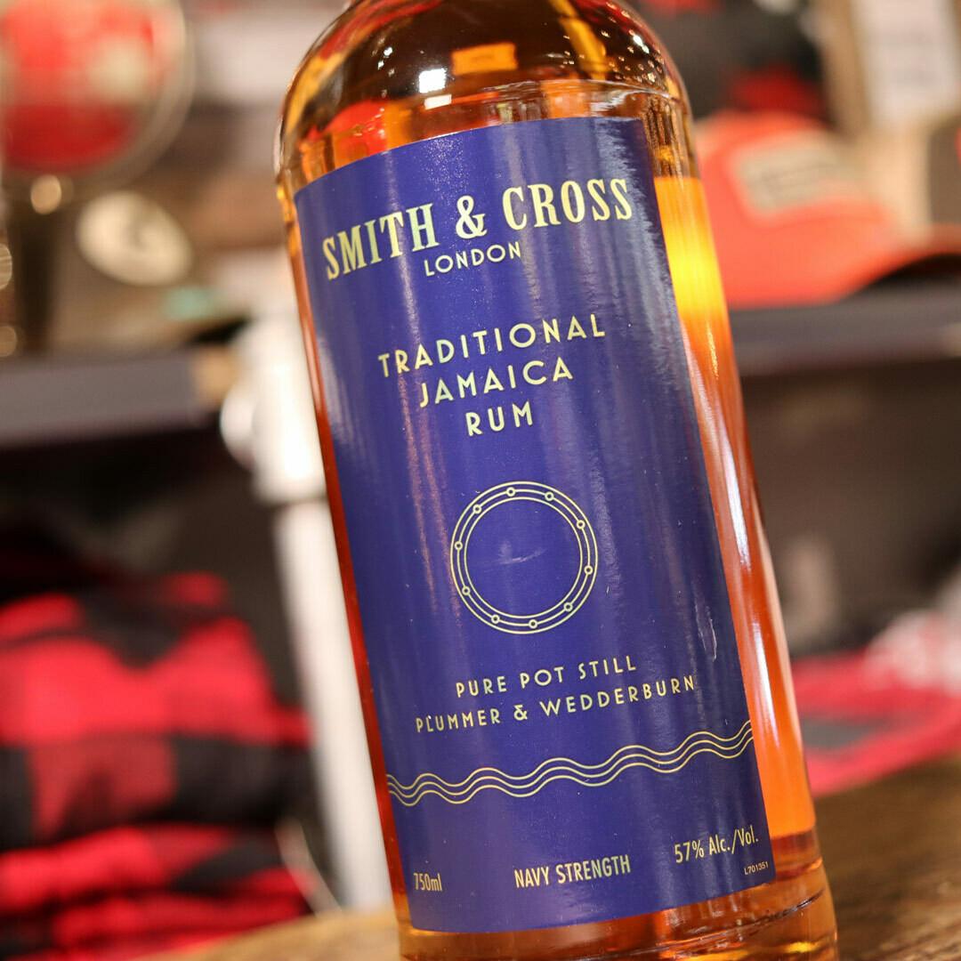 Smith & Cross Jamaica Rum 750ml.