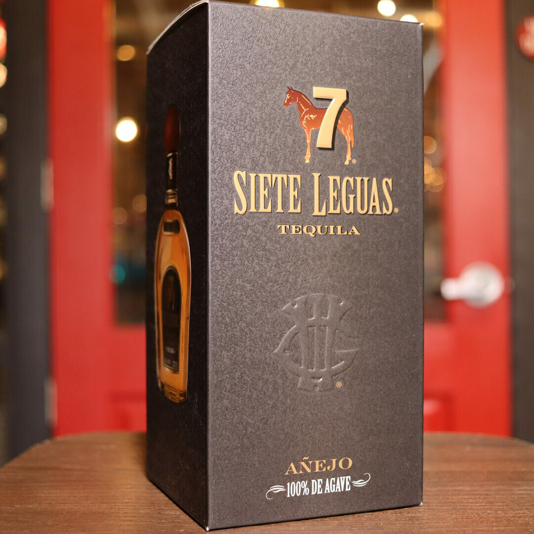 Siete Leguas Tequila Anejo 750ml.
