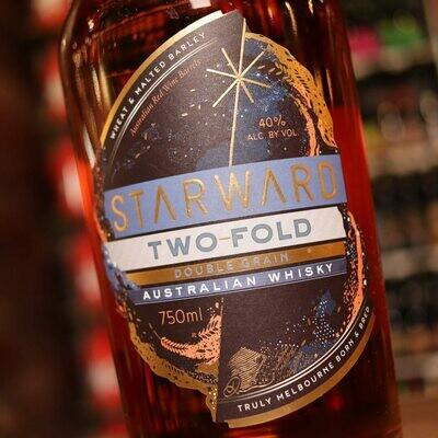 Starward Two Fold Double Grain Whisky 750ml.