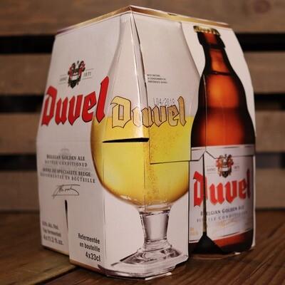 Duvel Belgian Golden Ale 11.2 FL. OZ. 4PK