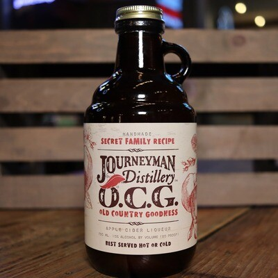 Journeyman OCG Apple Cider Liqueur 750ml.