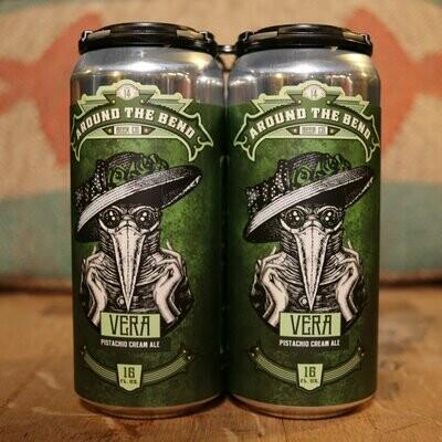 Around the Bend Vera Pistachio Cream Ale 16 FL. OZ. 4PK Cans