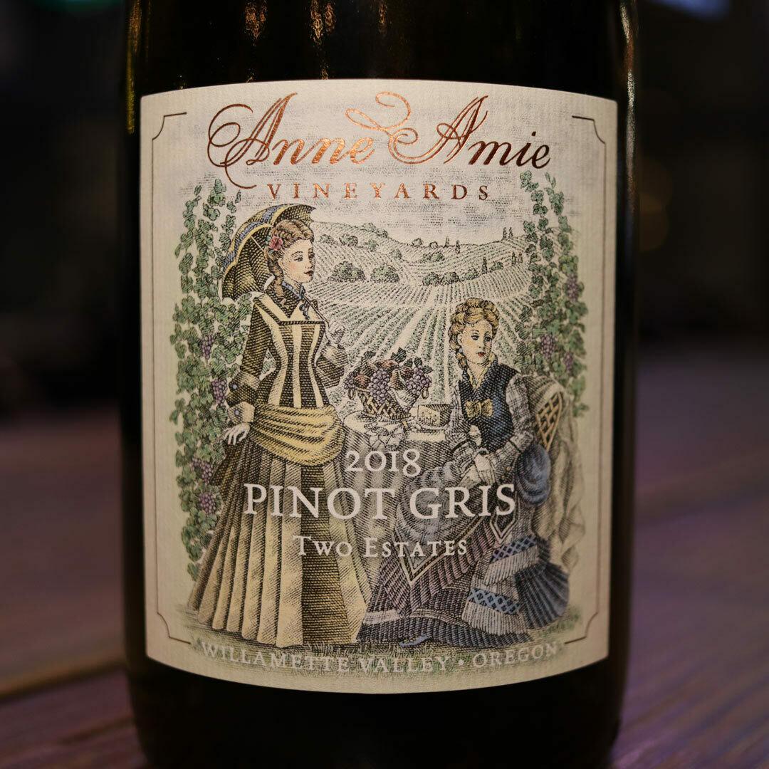 Anne Amie Pinot Gris Willamette Valley Oregon 750ml.