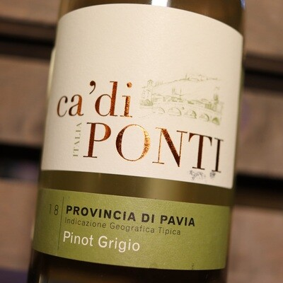 Ca' di Ponti Pinot Grigio Italy 750ml.
