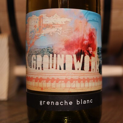 Groundwork Grenache Blanc Paso Robles California 750ml.