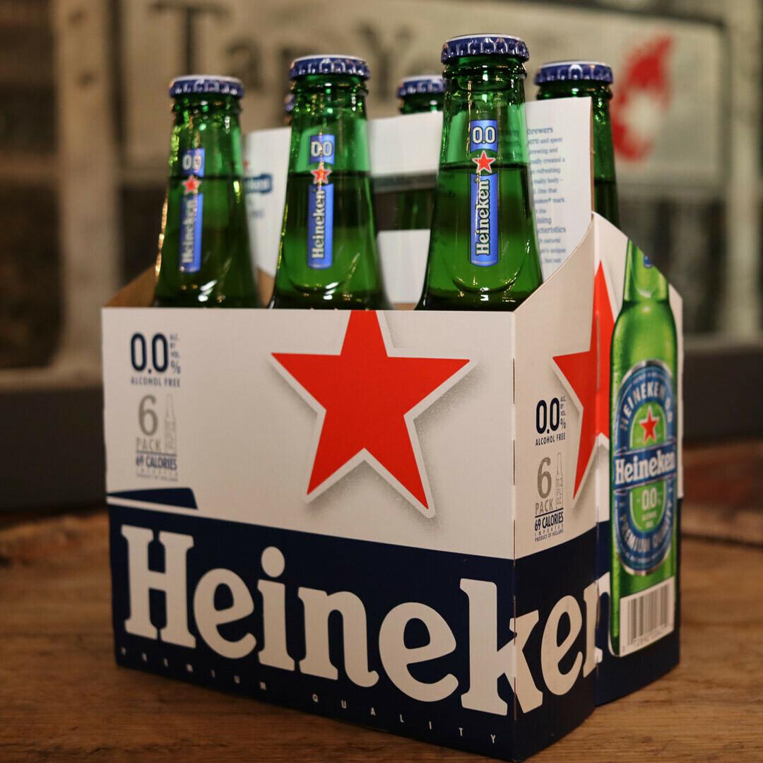Heineken ZERO Alchohol 11.2 FL. OZ. 6PK