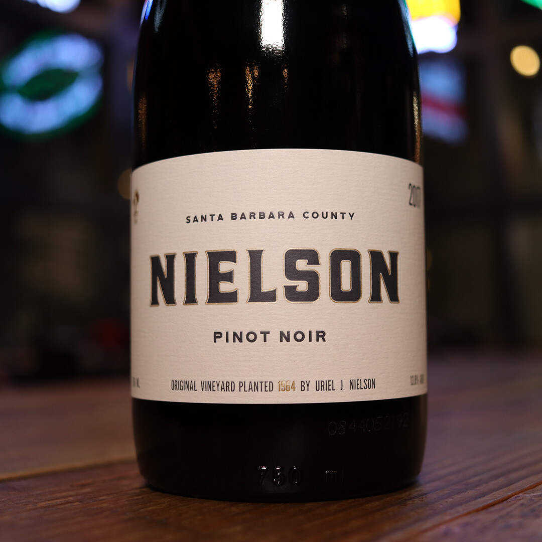 Nielson Pinot Noir Santa Barbara California 750ml.