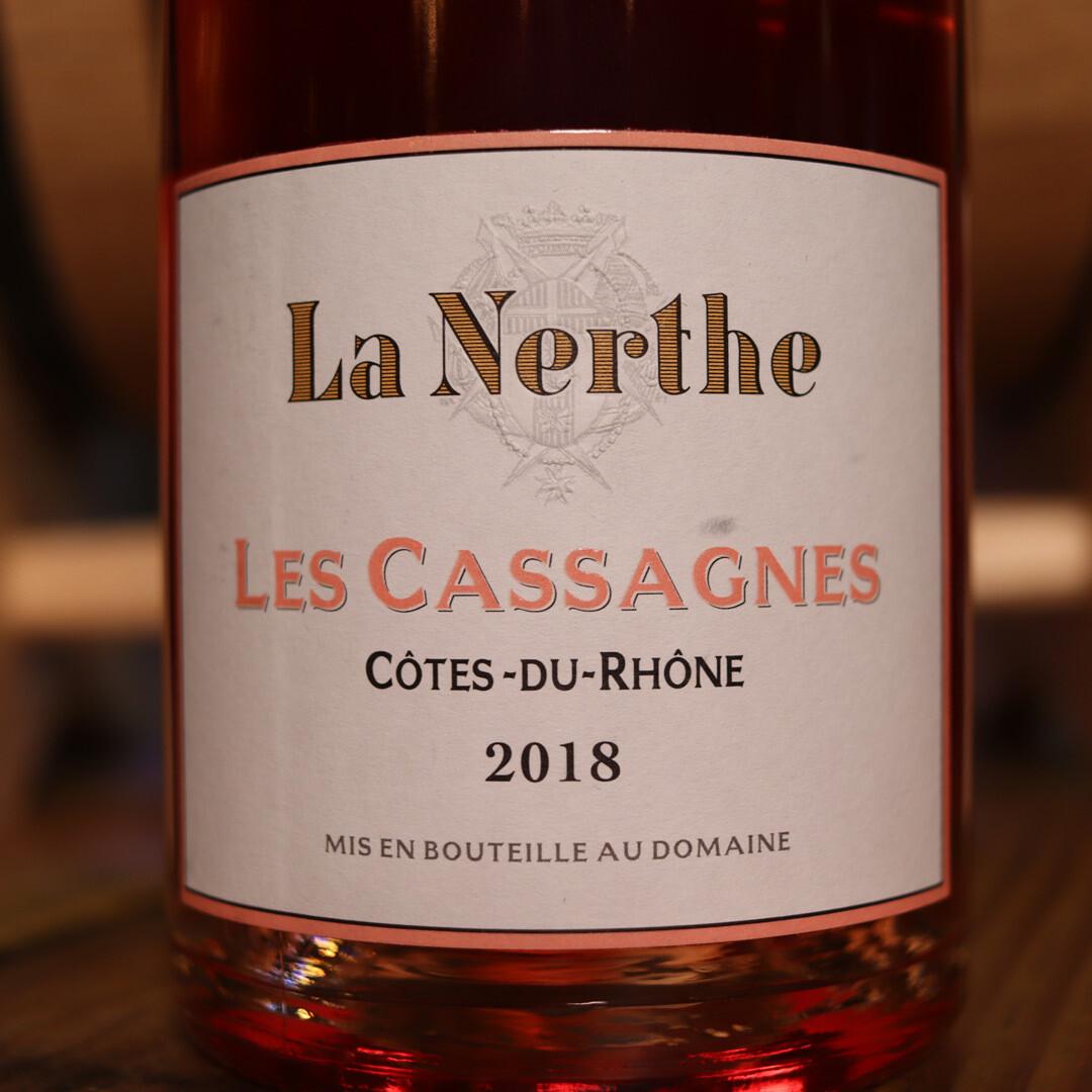 La Nerthe Les Cassagnes Cotes Du Rhone Rosé France 750ml