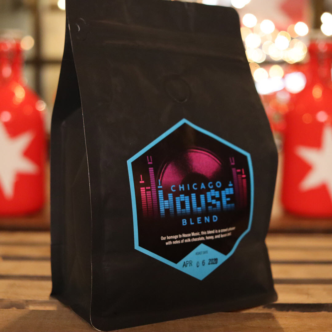 Passion House Chicago House Blend WHOLE BEAN 12 OZ.