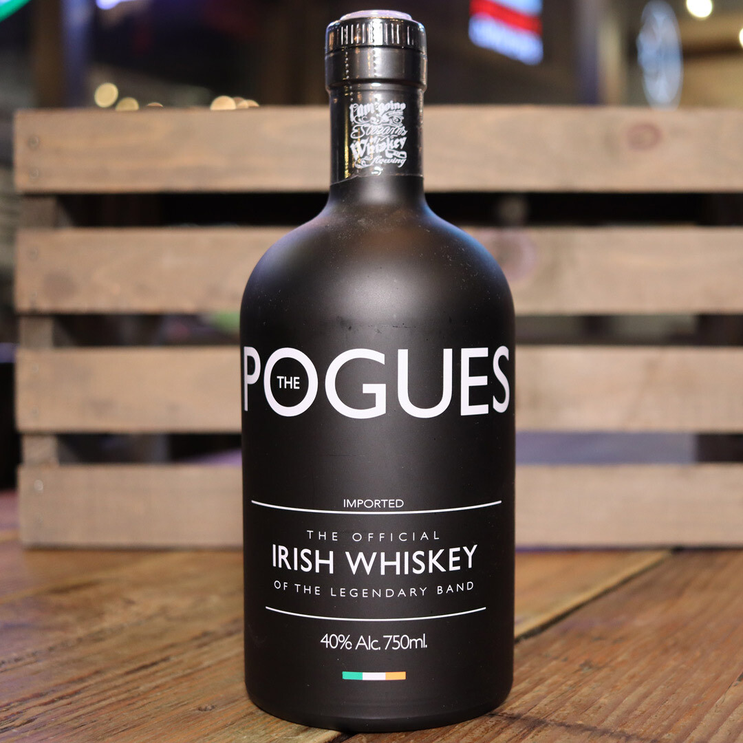 Pogues Irish Whiskey 750ml.