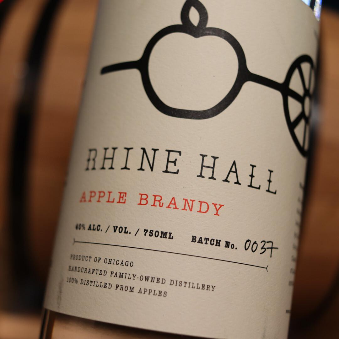 Rhine Hall Apple Brandy 750ml.