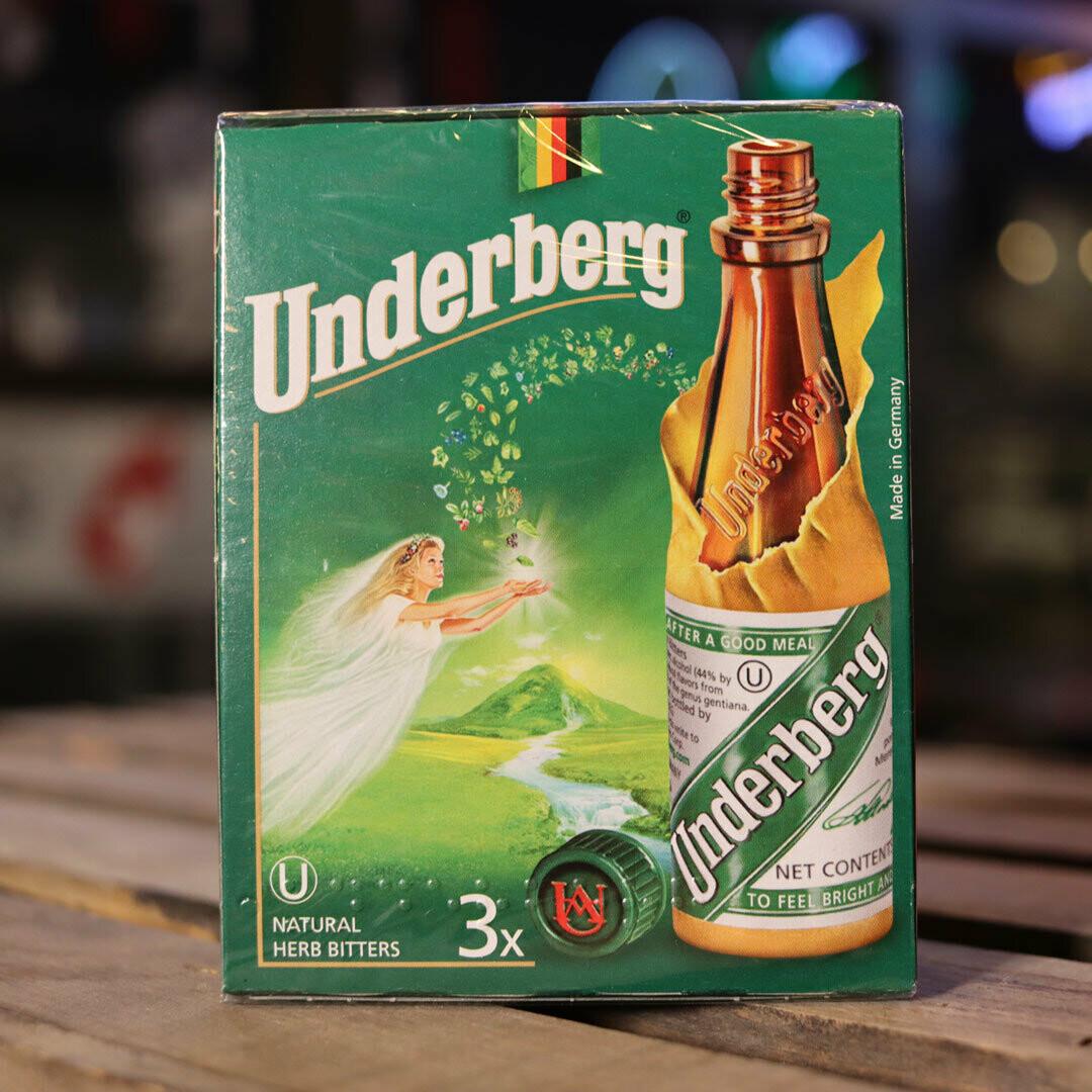 Underberg Herb Bitters 2 FL OZ 3 PK